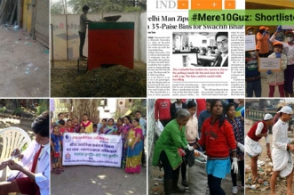 Shortlisted entries - #Mere10Guz clean-up drives stories - banega swachh india
