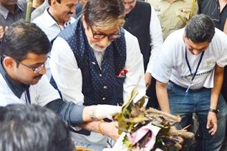 Banega Swachh India With Amitabh Bachchan Cleanathon