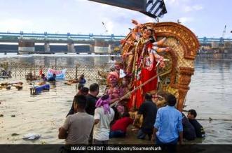 banega swachh india - durga puja - ganga pollution in bihar