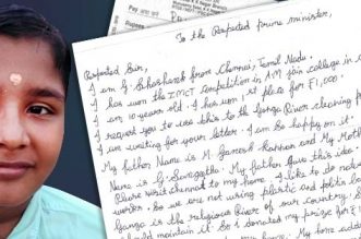 Banega Swachh India - 10 year old writes a letter to PM Modi