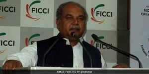 Corporates Should Contribute Towards Toilet Building: Narendra Singh Tomar