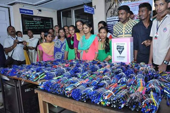 Say No To Plastic Kerala Wages a War On Plastic With A Pen Drive - lakshmi menon 4