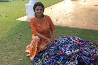 Say No To Plastic Kerala Wages a War On Plastic With A Pen Drive - lakshmi menon 45
