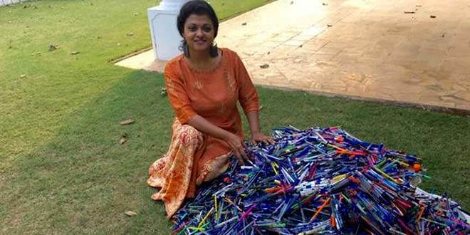 Laxmi Menon's initiative of driving out plastic waste