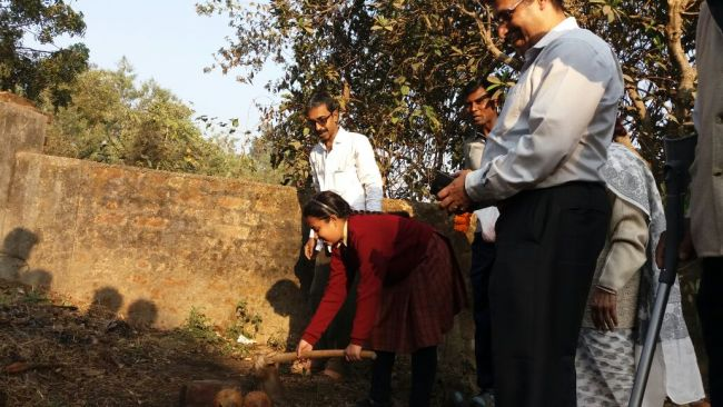 11-year-old Monidrita Chatterjee built toilets from her pocket money.