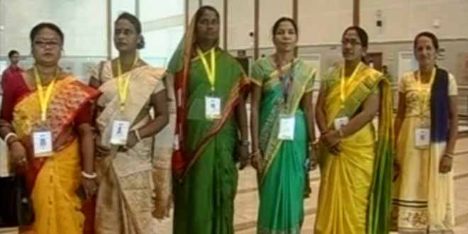 Banega Swachh India - Swachh Crusaders Honoured By Prime Minister Narendra Modi On Women's Day