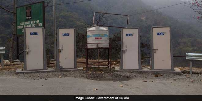Sikkim became India's first ODF state in 2008, long before Swachh Bharat was launched