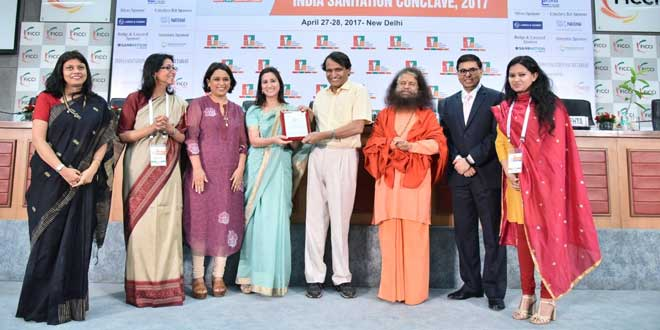 NDTV Wins Media For Sanitation Award For Banega Swachh India Campaign At Indian Sanitation Coalition-FICCI Awards 2017