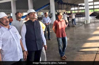 Maharashtra Chief Minister Devendra Fadnavis Impressed By Goa's Waste Management Technology