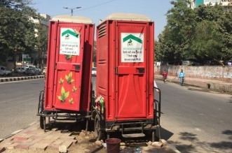 250 open defecation spots are estimated to be in Delhi