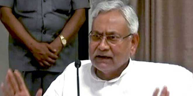 Centre Should Implement De-Stilling Policy To Restore Ganga: Chief Minister Nitish Kumar