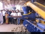 The waste processing plant