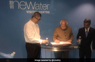 Singapore To Rejuvenate 14,000 Water Bodies In Haryana: Chief Minister Manohar Lal Khattar