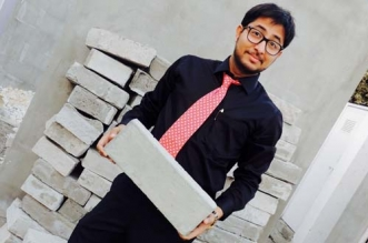 Trash To Toilets: At 11 He Came Up With The Idea Of Making Bricks From Waste. At 23, He Is Making It A Reality