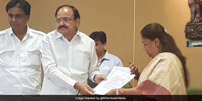 Rajasthan All Set To Become Open Defecation Free By End Of This Year: M Venkaiah Naidu