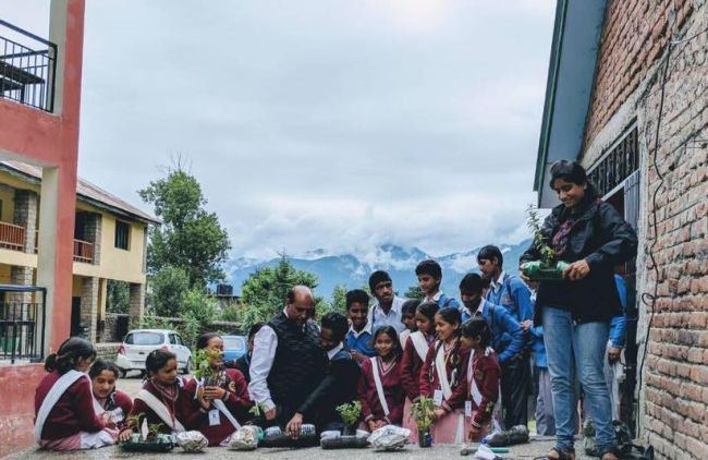 Trekking cum cleanliness drives are conducted every week in Kheerganga