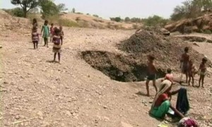 In This Drought-Hit Village, Women Scoop Water From Pits To Survive