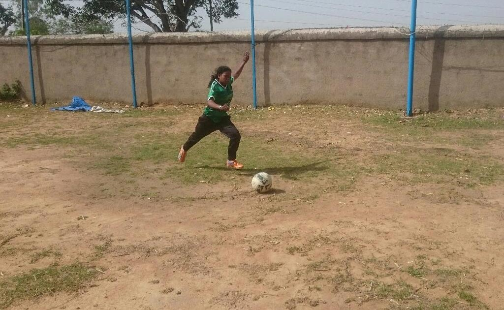 With Football, A Jharkhand Girl Scores A Goal In Denmark