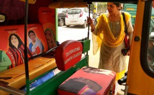 Delhi Autorickshaw Gets A Thoughtful Makeover, Hails Women Crusaders