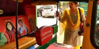 Delhi Autorickshaw Gets A Thoughtful Makeover, Hails Women Crusaders