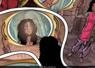 A Comic Book Attempts To Connect Readers With Acid Attack Victims