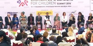 Nobel Laureates, Leaders Gather To Push Child Slavery Onto Global Agenda