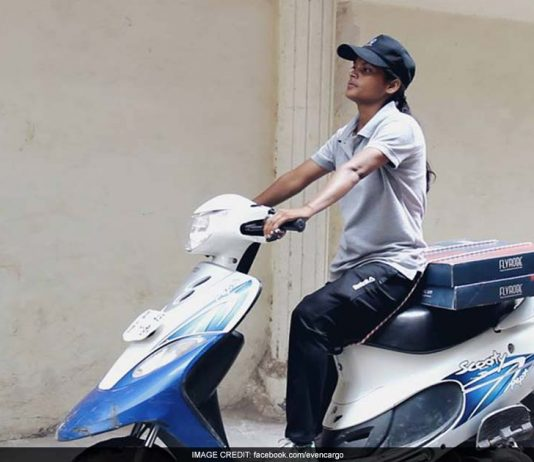 Scooter-Riding Delivery Girls Are Making Heads Turn On Delhi's Streets