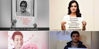 #WeAreEqual: Social Campaign Exposes Patriarchy, Celebrates Women's Rights