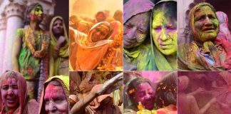 Rejecting Age-Old Taboos, Widows In Vrindavan Play Holi