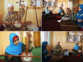 Kashmiri Girls Break Into A Father-To-Son Tradition: Sufi Music