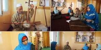 Kashmiri Girls Break Into A Father-To-Son Tradition: Sufi Music