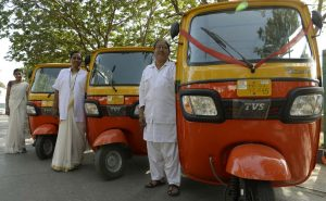 In White Uniforms, Mumbai?s New Women Auto Drivers Get To Work