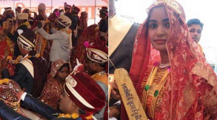 At A Mass Wedding, Minister Gifts Bats To Brides To Fix Drunkard, Abusive Husbands