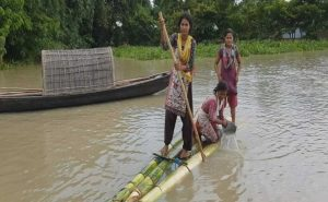 Surrounded By Flood Waters, How Villagers Are Coping In Assam