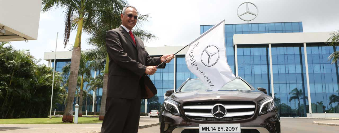 great overland adventure: flag-off at mercedes-benz plant in chakan