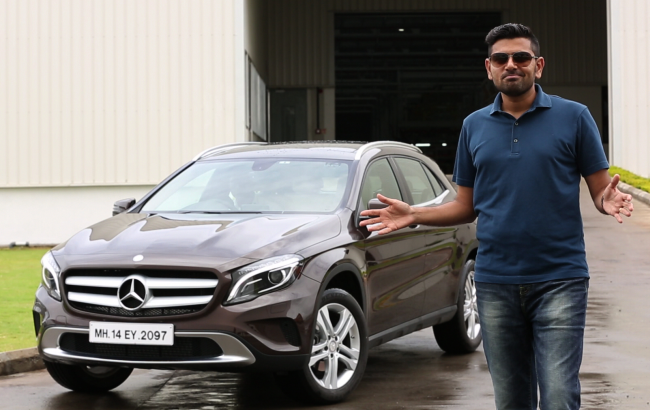 Siddharth with GLA 3