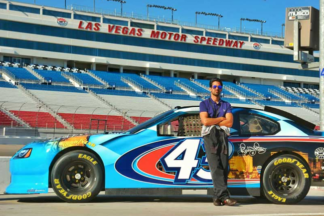 It 39 s time for glaadventure to conquer americas gla for Nascar experience las vegas motor speedway