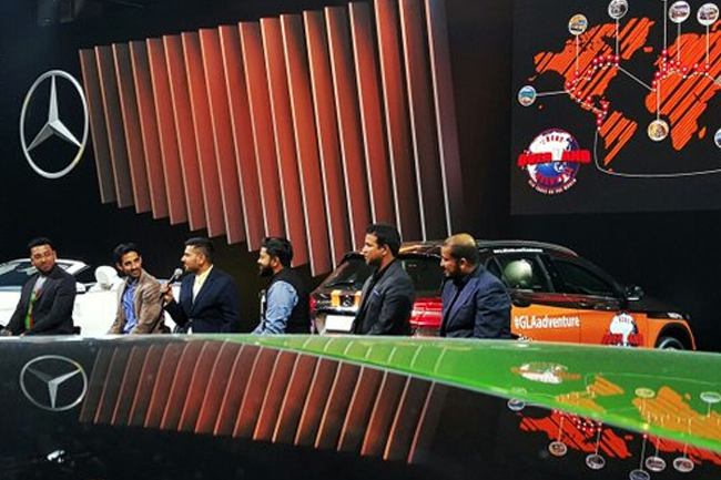 As the cars make their way to Mexico, the team reunites for the Auto Expo 2016 in Delhi. Here all the drivers of #GLAadventure meet and interact with fans including the winners of the 'Been There, Done That' #GLAadventure web Contest. The team shares their experiences about the adventure so far.
