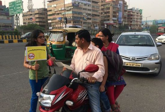 This Class XII Student Is On A Solo Mission – To Teach Drivers Road Safety And Make Indian Roads Safer