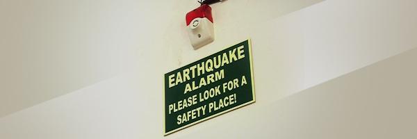 Earthquake signal