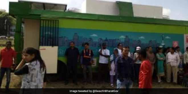 Women's Only Mobile Toilets Launched In Pune