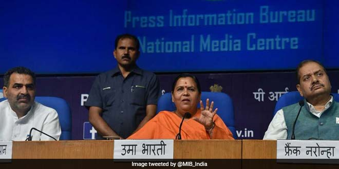 New Law On Ganga Cleanup In Progress, Will Be Shared With The States: Uma Bharati