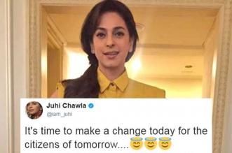 juhi-chawala-on-plastic-pollution