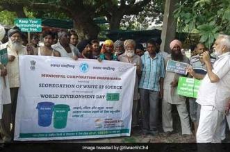 Waste segregation in Chandigarh