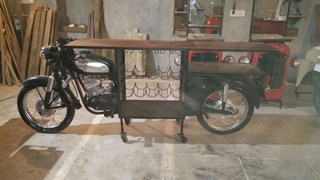 Military Auction Jeeps India >> Waste Management: This Enterprise Is Turning Waste Materials Into Furniture And Handbags | Waste ...