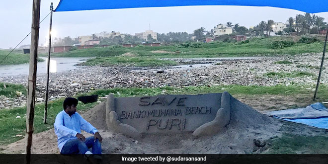 Sand Artist Sudarsan Pattnaik Appeals Prime Minister Narendra Modi To Set Up Waste Water Treatment Plants Along Country's Coastlines