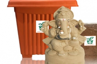 Eco-Friendly Ganesh Chaturthi: Ganapati Idols That Grow Into Plants After Immersion