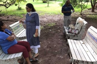 This Mumbai Park Gets A Eco-friendly Makeover, Receives Benches Made Of 18,000 Tetra Pak Cartons That Are Saved By Its Residents In A Span Of 3 Years