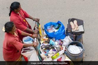 Waste workers in Bengaluru