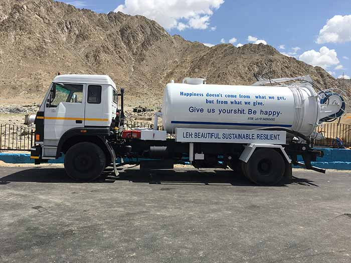 Transportation trucks will be instrumental in transporting the sludge from septic tanks to the treatment plant